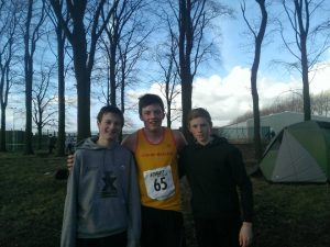 Daniel LENG, James BOLAM and Adam WEIGHTMAN