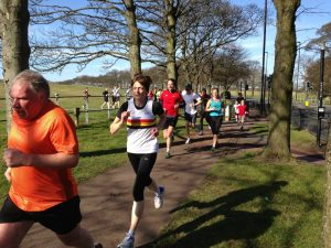 Diana WEIGHTMAN Newcastle Parkrun