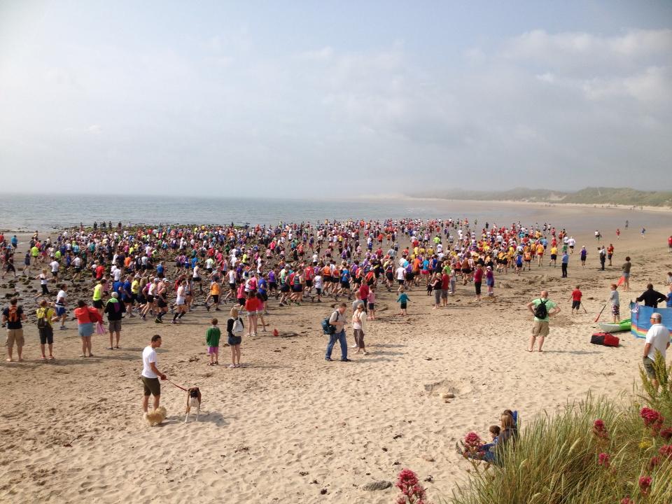 2013 Coastal Run Start!