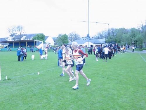 Gay and Richard EASTOE-Keswick Half Marathon 2014