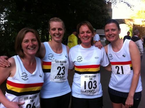 Ruth DOCTOR, Laura STUBBINGS, Maureen BARTRUM and Sarah CROSS