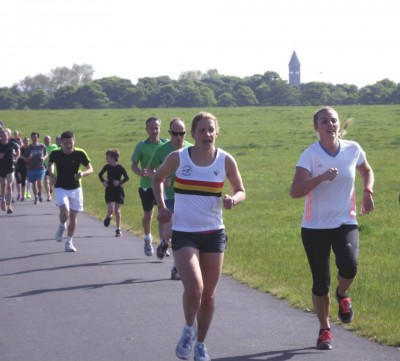 Tracey SAMPLE-Newcastle Parkrun May 2014