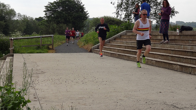 Stu MORRIS-Durham Parkrun May 2014