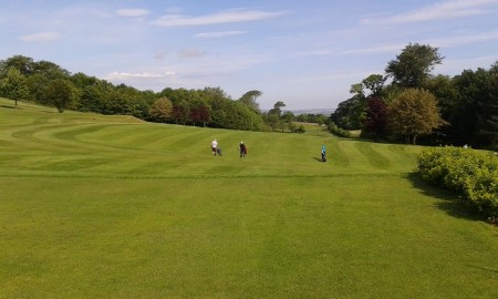 Beautiful Day at Alnwick Castle Golf Course!