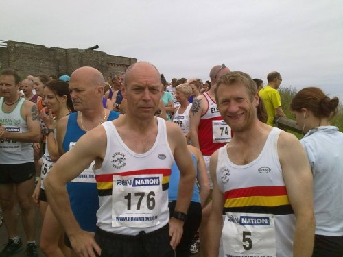 Jim LILLICO and Adam FLETCHER-Bamburgh 10k 2014