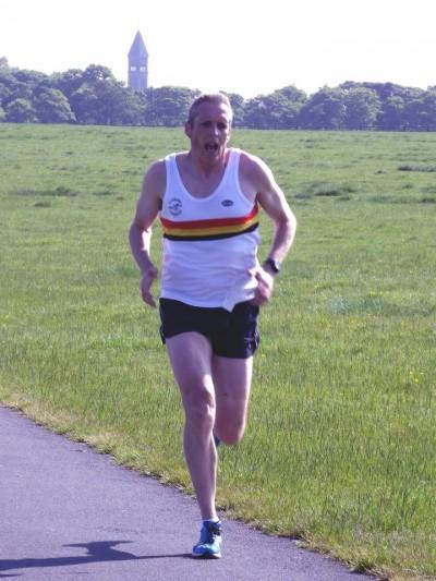 Ian SIMON-Newcastle Parkrun May 2014