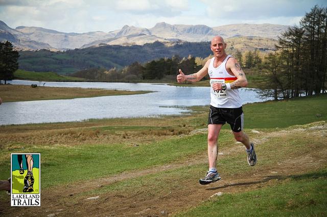Bruce CROMBIE-Hawkshead Trail Race 2013