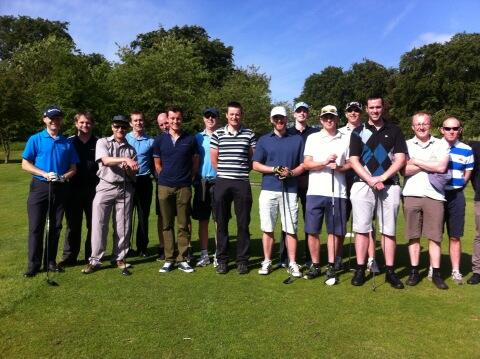 Harriers Golf Day 2014
