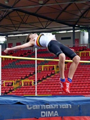 Peter SKIRROW-High Jump