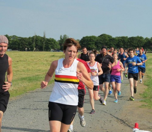 Diana WEIGHTMAN-Newcastle Parkrun July 2014