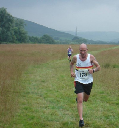 Bruce CROMBIE on his way to 2nd place at Powburn