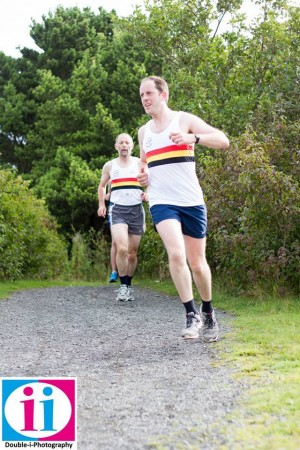 Graham CROW and Terry FOUNTAIN-Druridge Bay Parkrun #3
