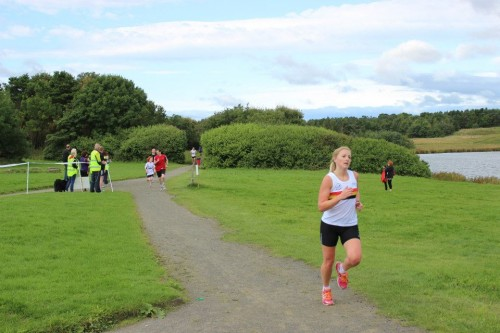 Sarah GRAY-Parkrun Winner!
