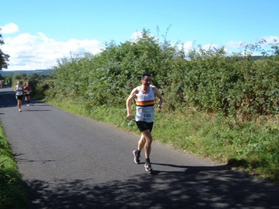 Gary COWELL-Tynedale Harriers 10 Mile Jelly Race