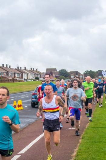 Peter GREY at South Shields Parkrun September 2014