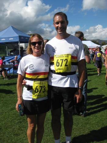 Maureen and Dave BARTRUM-Derwentwater Trail Challenge 2014