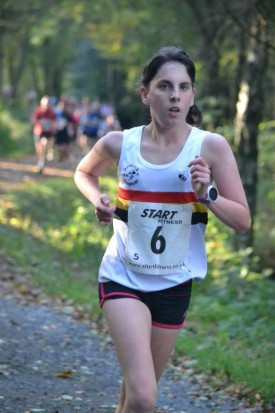 Charlotte BASTON-Gibside Trail Race 2014