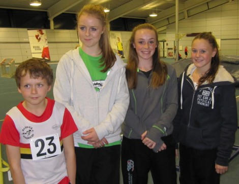 Alnwick Harriers at Gateshead Indoor Series Oct 2014
