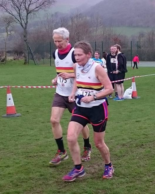 Gay and Richard EASTOE-Lorton School 10k
