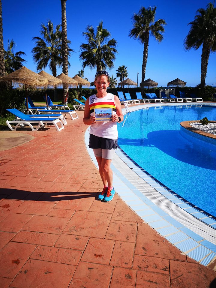 Jocelyn Bolam in Spain.