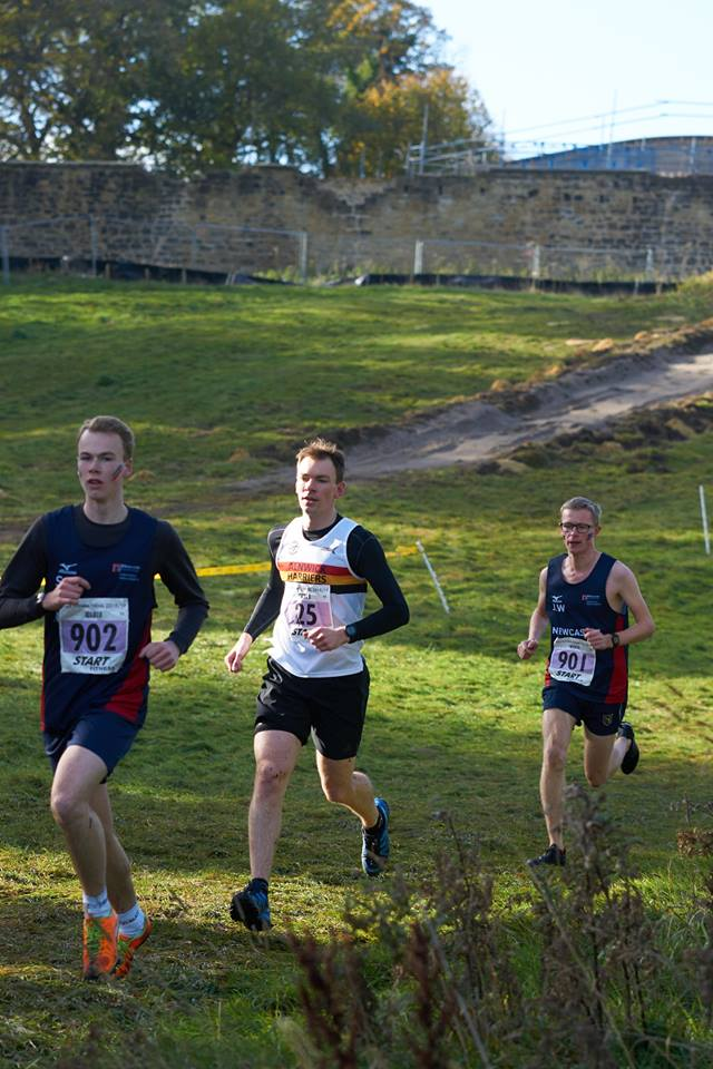 Jon Archer at the cross-country.